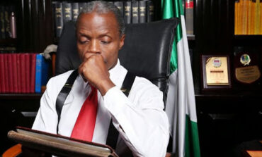Osinbajo distances himself from campaign touting him as a 2023 presidential candidate