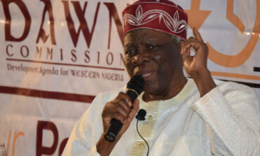 Veteran Yoruba campaigner Prof Akintoye faults southern governors for not discussing self-determination