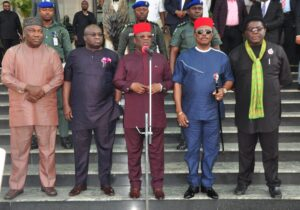 South East Governors Forum Pledges its commitment to a united and indivisible Nigeria