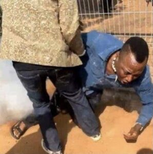 Sowore rushed to hospital after police fire teargas canister at him in Abuja