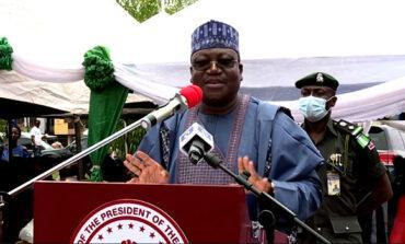 Senate president says Nigeria has no option but to keep borrowing for infrastructural development