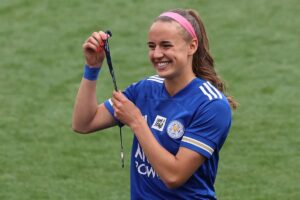 Leicester City Women's Ashleigh Plumptre says she wants to play for Super Falcons