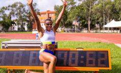 Blessing Okagbare becomes second fastest sprinter of all time after running 10.63 seconds