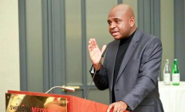 Kingsley Moghalu launches his 2023 presidential campaign saying he can wants to end violence