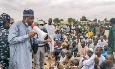 Governor Zulum warns that Borno may face famine as a result of farmer displacement