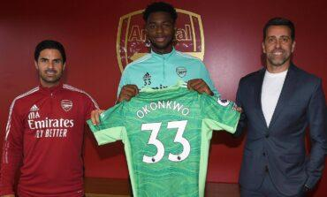 Arthur Okonkwo signs long term contract with Arsenal as he gets promoted to the first team
