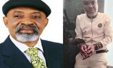 Ngige tells Ipob to stop mentioning his name in connection with the arrest of Nnamdi Kanu