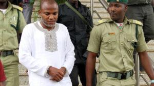 Ipob spokesman confirms that Nnamdi Kanu was arrested in Kenya and handed over to Nigerian officials
