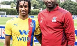 Michael Olise becomes Patrick Viera's first signing at Palace after agreeing to five year deal