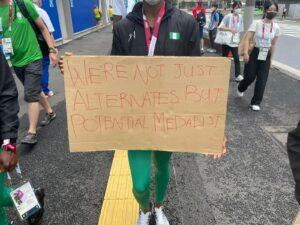 More trouble at Olympics as Nigerian officials refuse to give athletes phones donated by sponsor Samsung