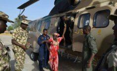 Former Chibok girl and her terrorist husband surrender to Nigerian Army in Borno State