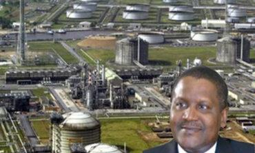 Dangote is the only Nigerian who makes the Bloomberg Billionaires Index of 500 wealthiest people on earth