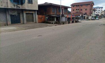 Anambra residents stay away from markets despite Ipob calling off today's sit-at-home protest