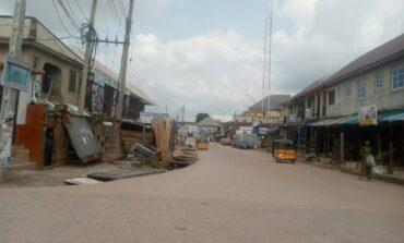Streets deserted across Anambra as local people comply with Ipob's sit-at-home order