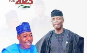 Osinbajo distances himself from 2023 presidential campaign posters declaring him a candidate