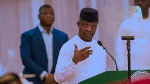 Osinbajo opposes secession saying the greatest nations in the world are multi-ethnic
