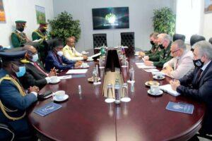 Nigeria and Russia sign military cooperative agreement involving the supply of weapons and training