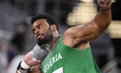 Enekwechi hopes to win Nigeria's first male individual track and field medal in  shot put final