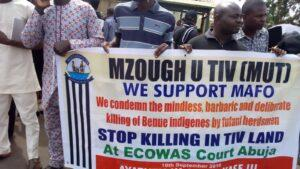 Tiv Youth Organisation vows to fight plans to establish gracing site the way it opposed Dan Fodio