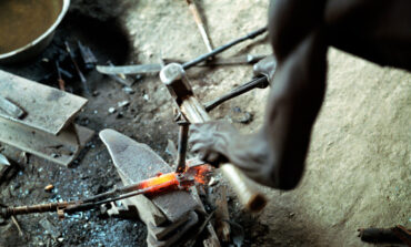 Local Nigerian blacksmiths develop the capability to manufacture AK47 assault rifles