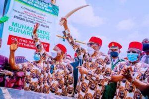 Ohaneze Ndigbo uses Buhari's visit to Owerri to call for release of Igbo youths held by security operatives