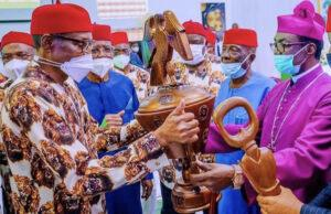 Buhari tells Ndigbo they are going nowhere as they are fundamental to Nigeria's future