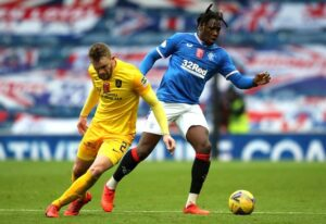 Glasgow Rangers fullback Calvin Bassey handed his debut call-up for October World Cup qualifiers