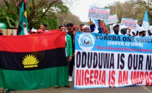 Ipob asks Yoruba Nation and Middle Belt Forum to join it in shutting down Nigeria on Oct 1