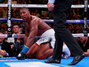 Anthony Joshua says he is not a sulker so cannot wait to get back into the ring for a rematch