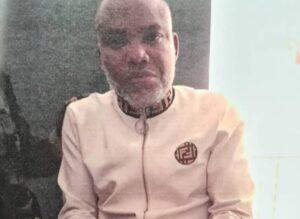 Nnamdi Kanu's lawyer claims he was smeared in urine and faeces during his Kenyan detention