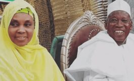 EFCC arrest Governor Ganduje's wife after she refuses to honour their invitation for questioning