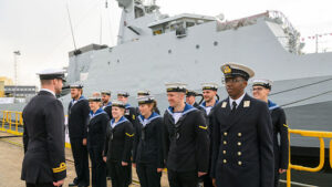 Britain deploys naval patrol ship HMS Trent to West Africa  to help combat growing piracy