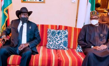 Buhari assures South Sudan that Nigeria is on standby to assist them with security assistance