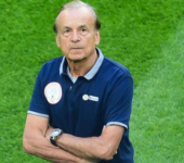 Rohr attributes yesterday's embarrassing loss to absence of midfielders Ndidi and Iwobi