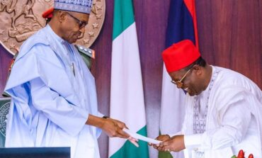 Governor Umahi describes calls for Biafra as madness pointing out that secession is economic suicide for Ndigbo